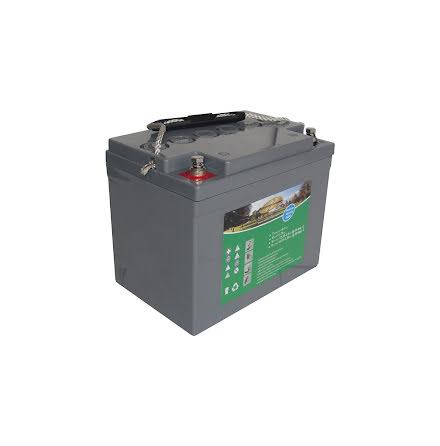 Partsmart gelbatteri 12V/36Ah..