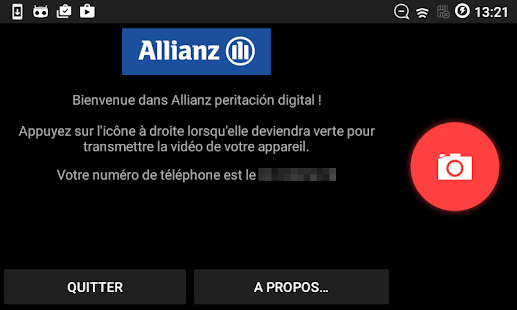 Allianz peritación digital - náhled