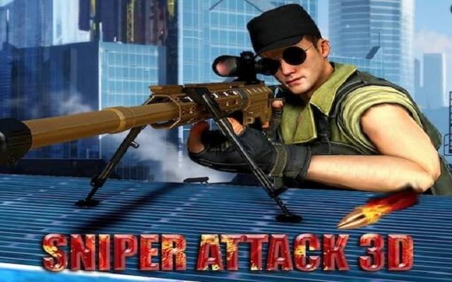 Sniper D Gun Shooter
