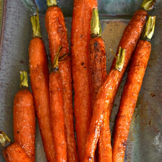 Roasted Carrots with Honey & Lemon