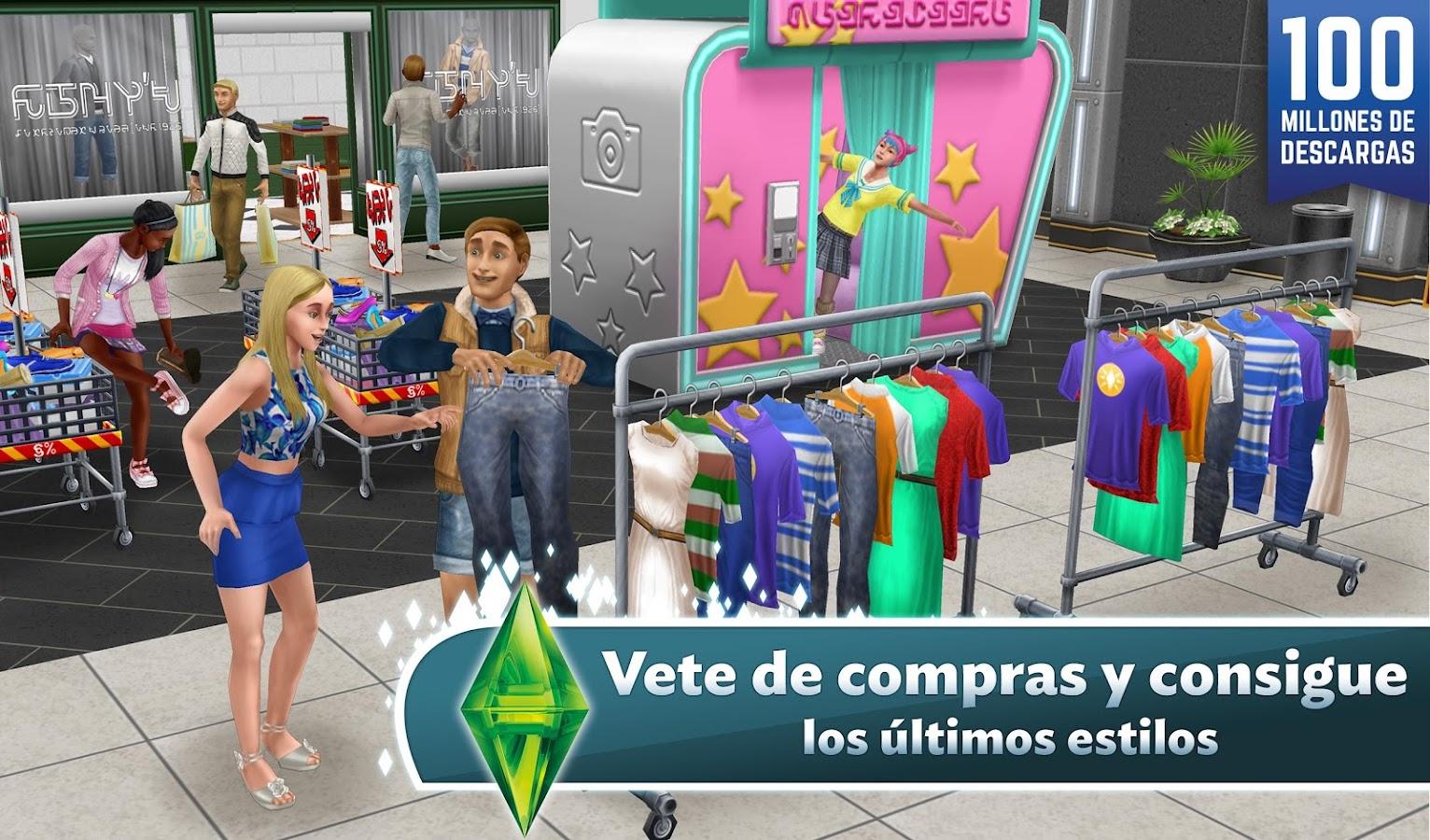 Los Sims™  FreePlay: captura de pantalla