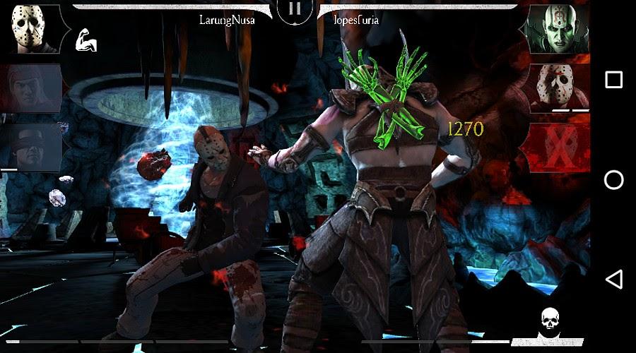 Jason vs Quan Chi di depan Jinsei