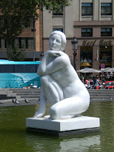 Photo: I loved this sculpture in Barcelona