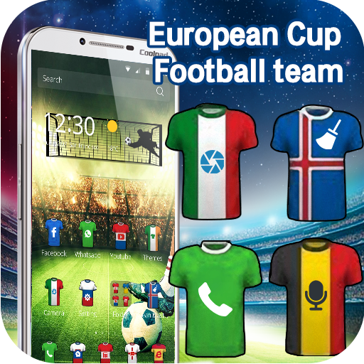 European Cup football theme 3D (app)