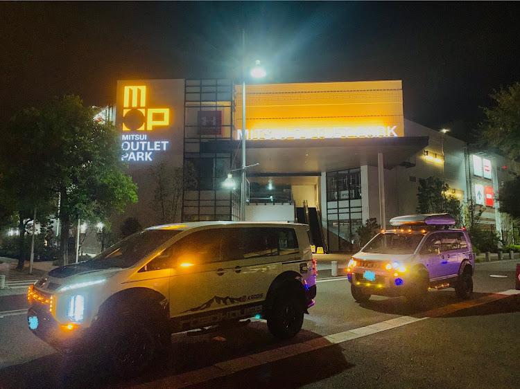 デリカD:5 CV5Wの横浜ベイサイドマリーナ,カスタムデリカ,プチナイト,マーカー映え,RHデリカに関するカスタム&メンテナンスの投稿画像7枚目