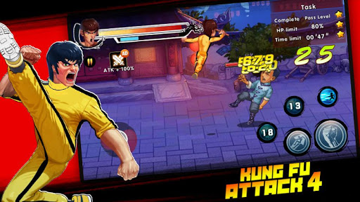 Kung Fu Attack 4 - Shadow Legends Fight 1.0.9.101 screenshots 4