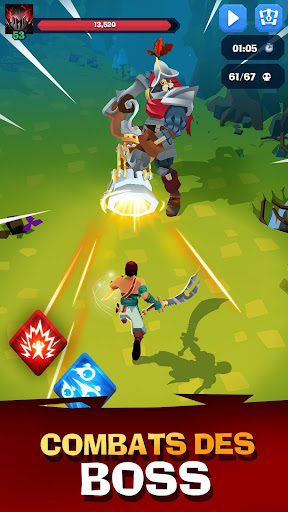 Code Triche Mighty Quest For Epic Loot RPG APK MOD (Astuce) screenshots 1