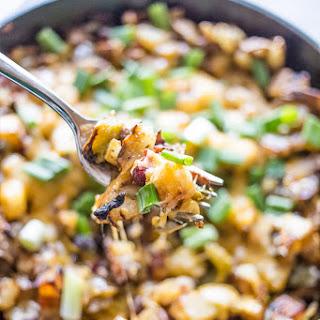 Cheesy Veggie Home Fries