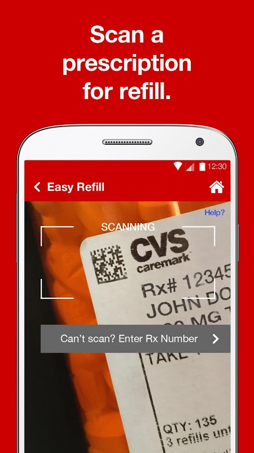 CVS Caremark- screenshot