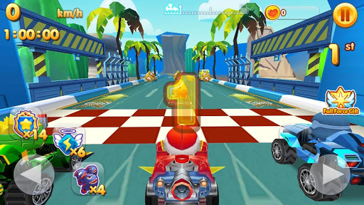 Télécharger Toons Star Racers apk mod screenshots 5