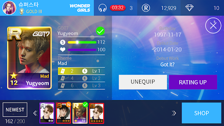 SuperStar JYPNATION APK screenshot thumbnail 5