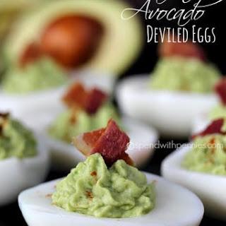 Bacon Avocado Deviled Eggs Recipe