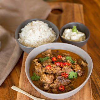 Lamb and Yoghurt Curry.