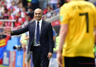 """Roberto Martinez va faire tourner: """"Certains joueurs vont recevoir leur chance contre l'Angleterre"""""""