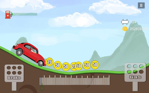 Car Mountain Hill Driver - Climb Racing Game 1.0.1 screenshots 1