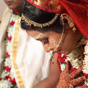 by Pratik Nandy - Wedding Bride