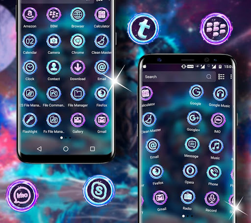 Abstract Lion Launcher Theme hack tool