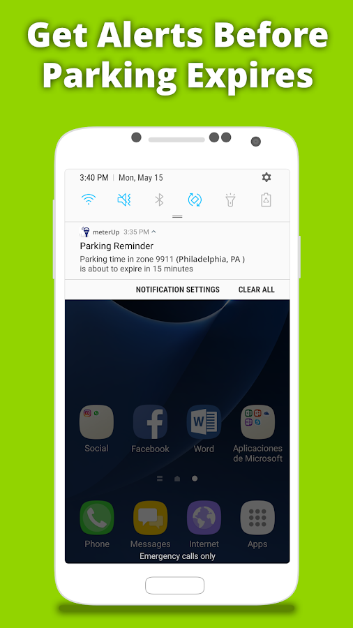 meterUP - Powered by Parkmobile- screenshot