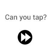 Can you tap?