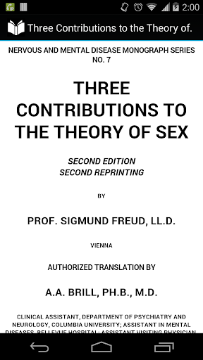The Theory of Sex