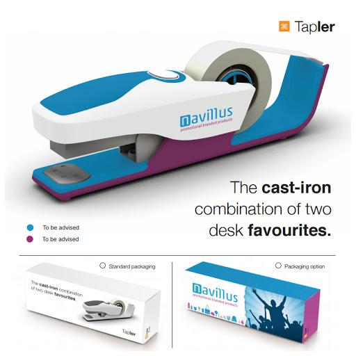 Tapler Tape Dispenser and Stapler