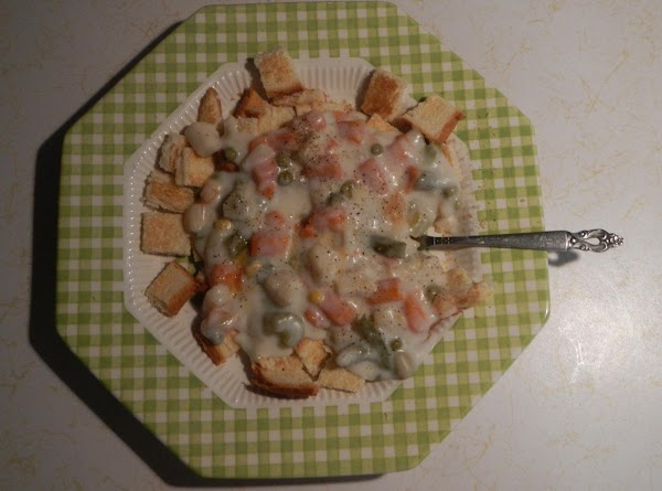 Creamed Veggies W/toast Recipe