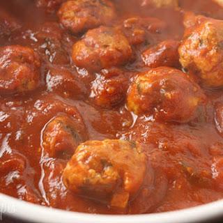 Skinny Italian Turkey Meatballs.