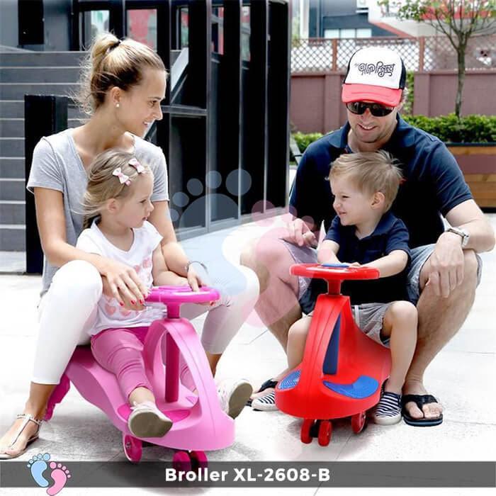 Xe lắc tay trẻ em Broller XL-2608B 1