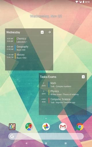 Timetable  screenshots 24