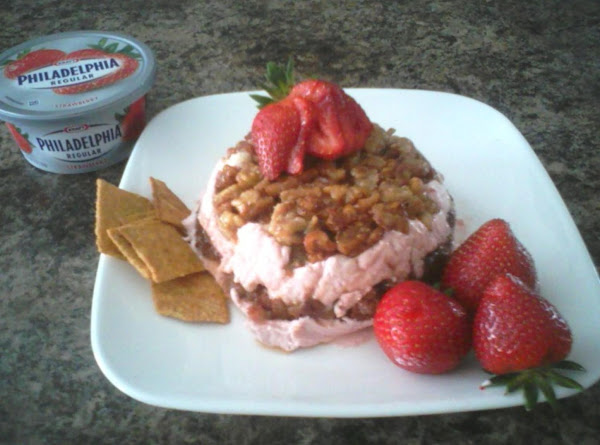 Kirsch Kissed Strawberry Cream With Candied Walnuts Recipe