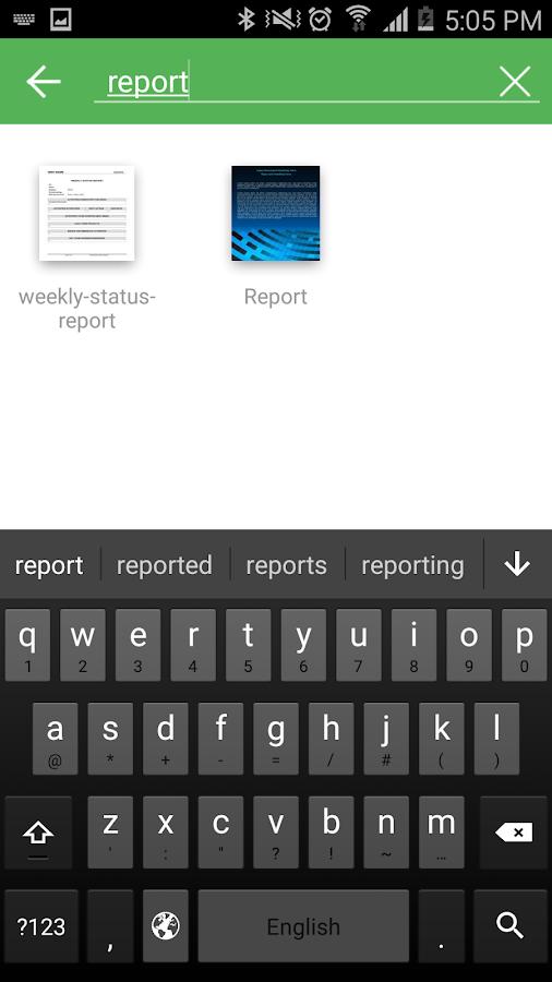 Screenshots of abDocs for iPhone