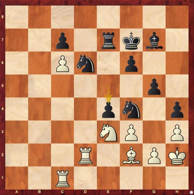 A chess board with chess pieces  Description automatically generated with low confidence