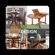 250 wood table design ideas