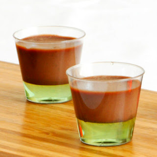 Chocolate Cream Cheese Panna Cotta