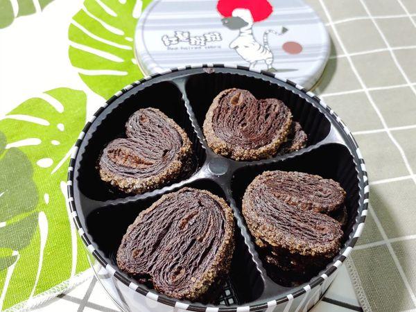 紅髮斑斑蝴蝶酥 || 限量版巧克力口味,選用法國100% 頂級可可粉 微苦回甘濃郁,用最好的味道給客人。