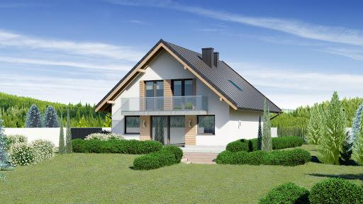 projekt Dom przy Wiązowej 3