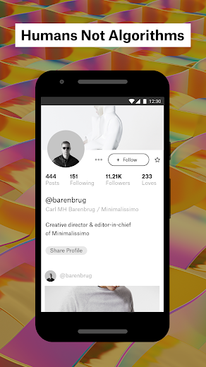 Screenshot 3 for Ello's Android app'
