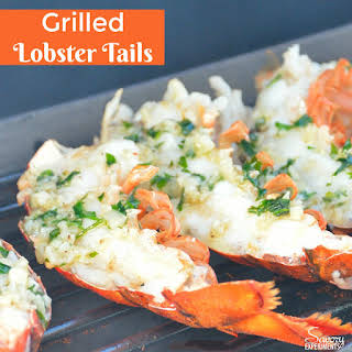 Grilled Lobster Tails.