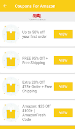 Coupons for Amazon & Promo codes APK screenshot thumbnail 5