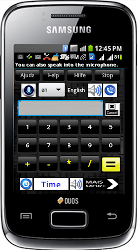 Low Vision Keypad