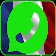 واتس برقم فرنسي icon