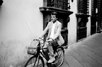Photo: S M O K E N R I D E  http://500px.com/photo/19347557  #streetphotography  #street  #blackandwhitephotography  #bw  #blackandwhite  #bicycle