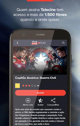 Telecine - Android TV screenshots 1