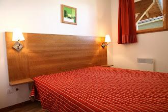 Photo: Une chambre double d'un appartement 2 pièces pour 4 personnes