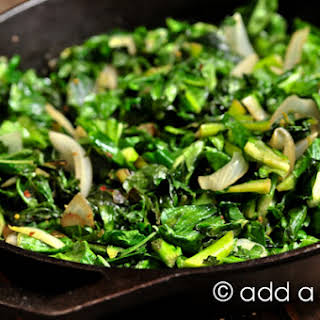 Cook Turnip Greens Without Meat Recipes.