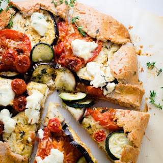 Mixed Vegetable Galette.