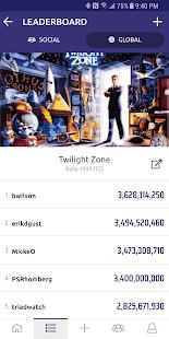 Pindigo: Social Pinball Scores - náhled