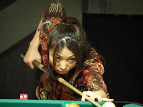 Photo: 地元ファンの熱い応援をバックに奮闘した藤井寛美(Justdoit)は5位タイ