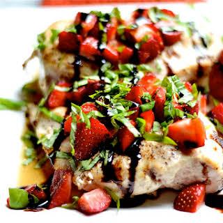 Strawberry Basil Chicken.