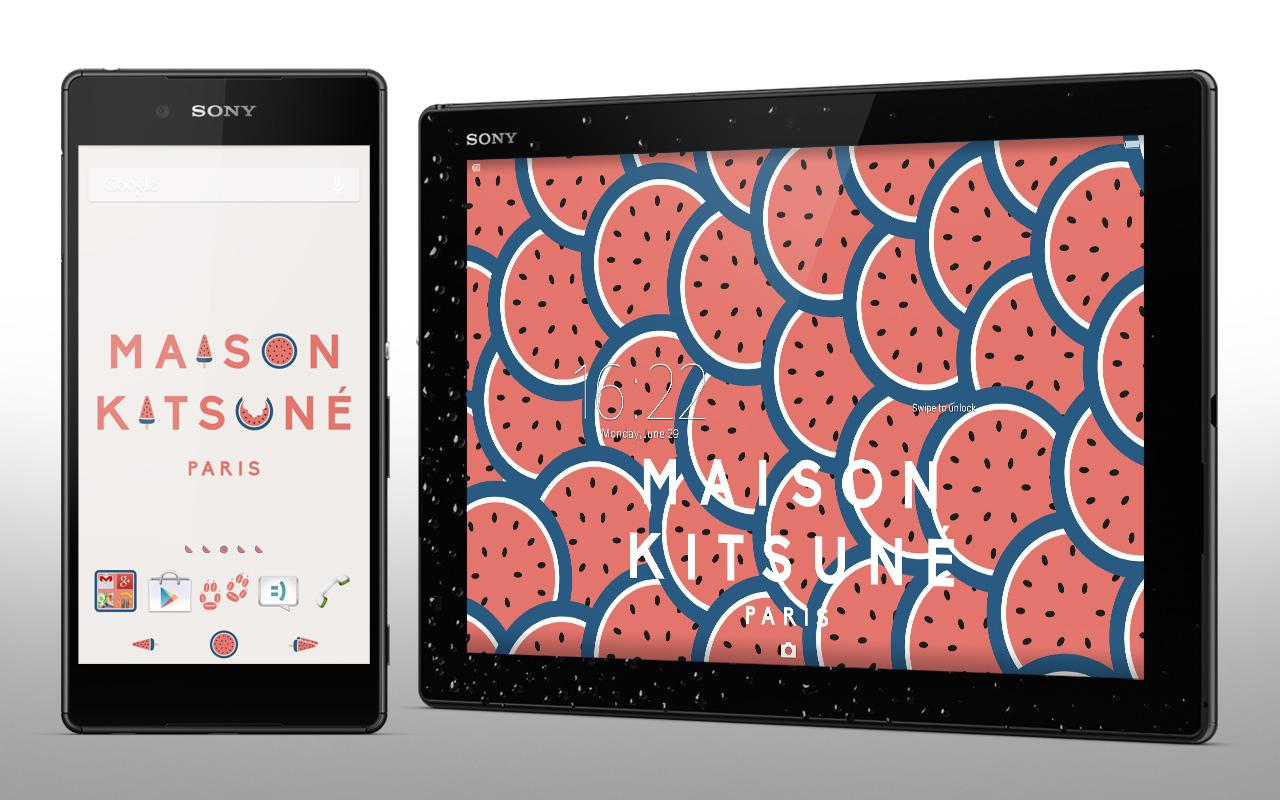 Xperia kitsun summer theme android apps on google play xperia kitsun summer theme screenshot voltagebd Images